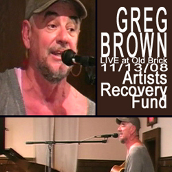 Greg Brown LIVE at Old Brick DVD