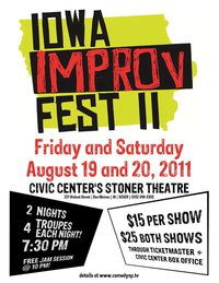 2nd Annual Iowa Improv Festival